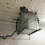 установка лабиринтного гидрофильтра